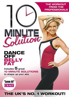 10 Minute Solution: Dance Off Belly Fat (Normal) [DVD] [DVD / Normal]