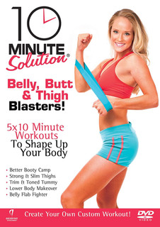 10 Minute Solution: Belly, Butt and Thigh Blaster (2009) (Normal) [DVD] [DVD / Normal]