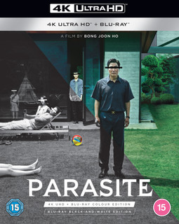 Parasite: Black and White Edition (2019) (4K Ultra HD + Blu-ray) [Blu-ray] [Blu-ray / 4K Ultra HD + Blu-ray]