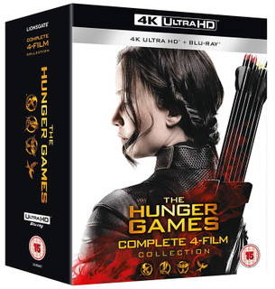 The Hunger Games: Complete 4-film Collection (2015) (4K Ultra HD + Blu-ray) [Blu-ray] [Blu-ray / 4K Ultra HD + Blu-ray]