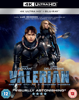 Valerian and the City of a Thousand Planets (2016) (4K Ultra HD + Blu-ray) [Blu-ray] [Blu-ray / 4K Ultra HD + Blu-ray]