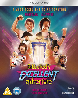 Bill & Ted's Excellent Adventure (1989) (4K Ultra HD (Restored)) [Blu-ray] [Blu-ray / 4K Ultra HD (Restored)]