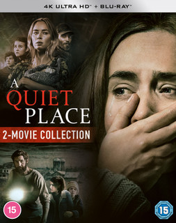 A Quiet Place: 2-movie Collection (2020) (4K Ultra HD + Blu-ray (Boxset)) [Blu-ray] [Blu-ray / 4K Ultra HD + Blu-ray (Boxset)]
