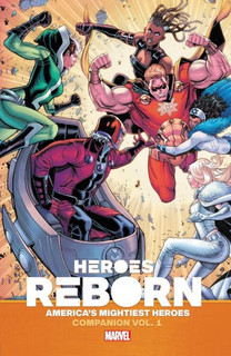 Earth's mightiest heroes companion. Vol. 1 (Graphic ed) [BOOK] [Paperback]