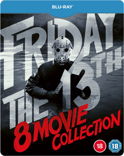 Friday the 13th: Parts 1-8 (1989) (Steel Book) [Blu-ray] [Blu-ray / Steel Book]