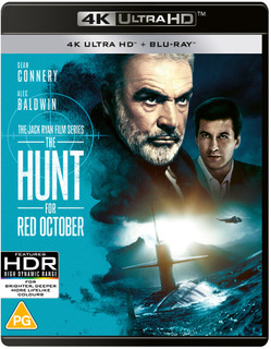 The Hunt for Red October (1990) (4K Ultra HD + Blu-ray) [Blu-ray] [Blu-ray / 4K Ultra HD + Blu-ray]