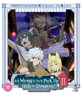 Is It Wrong to Try to Pick Up Girls in a Dungeon?: Season 2 (2020) (Normal) [Blu-ray] [Blu-ray / Normal]