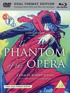 The Phantom of the Opera (1925) (with DVD - Double Play) [Blu-ray]