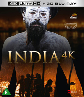 India 4K (2014) (4K with 3D Edition) [Blu-ray]