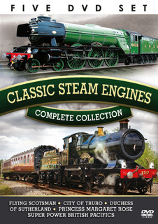 Classic Steam Engines: Complete Collection (Box Set) [DVD] [DVD / Box Set]