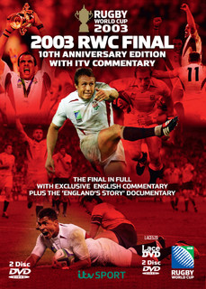 Rugby World Cup Final: 2003 (10th Anniversary Edition) [DVD]