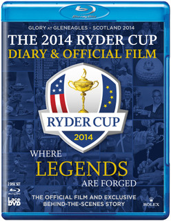 Ryder Cup: 2014 - Official Film and Diary - 40th Ryder Cup (Normal) [Blu-ray]