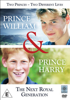 Prince William and Prince Harry: The Next Royal Generation (Normal) [DVD]