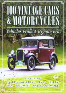 100 Vintage Cars and Motorcycles (Normal) [DVD]