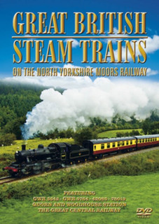 Great British Steam Trains: Of the North Yorkshire Moors (Normal) [DVD]