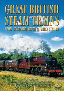 Great British Steam Trains: From Scarborough to Keighley Station (Normal) [DVD]