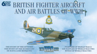 The War File: British Fighter Aircraft and Air Battles of WWII (Box Set) [DVD]