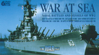The War File: War at Sea - Naval Battles and Vessels of WWII (Box Set) [DVD]