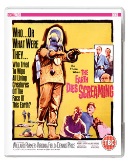 The Earth Dies Screaming (1964) (with DVD - Double Play) [Blu-ray] [Blu-ray / with DVD - Double Play]