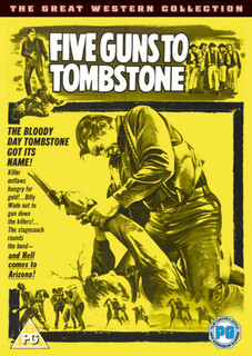 Five Guns to Tombstone (1960) (Normal) [DVD]