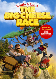 Louis and Luca - The Big Cheese Race (Normal) [DVD]