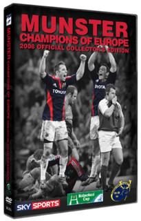 Munster Rugby: Champions of Europe 2008 (Collector's Edition) [DVD]