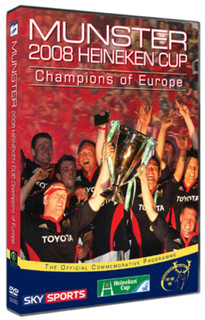 Munster Rugby: Champions of Europe 2008 (Normal) [DVD]