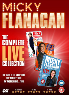 Micky Flanagan: The Complete Live Collection (2017) (Box Set) [DVD] [DVD / Box Set]