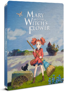 Mary and the Witch's Flower (2017) (Steel Book) [Blu-ray]