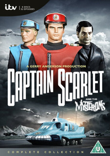 Captain Scarlet and the Mysterons: The Complete Series (Box Set) [DVD]