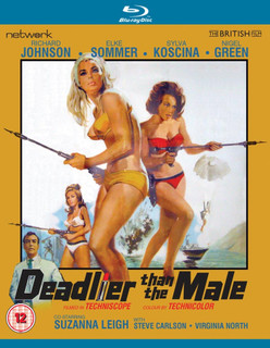 Deadlier Than the Male (Normal) [Blu-ray]