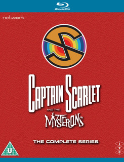 Captain Scarlet and the Mysterons: The Complete Series (Box Set) [Blu-ray]