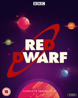 Red Dwarf: Complete Series I-VIII (1999) (with DVD - Box set) [Blu-ray] [Blu-ray / with DVD - Box set]