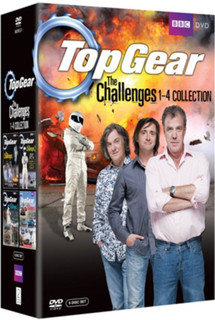 Top Gear - The Challenges: Volumes 1-4 (2009) (Normal) [DVD] [DVD / Normal]