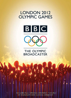 London 2012 Olympic Games - BBC the Olympic Broadcaster (Normal) [DVD]