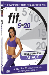 Fit in 5 to 20 Minutes: Legs Bum and Tum Attack (2011) (Normal) [DVD] [DVD / Normal]