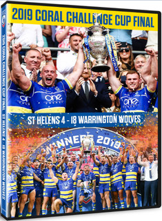 2019 Coral Challenge Cup Final - St Helens 4-18 Warrington Wolves (2019) (Normal) [DVD]
