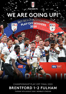 Fulham FC: We Are Going Up! - Championship Play-off Final 2020 (Normal) [DVD]