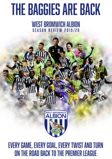 The Baggies Are Back - West Bromwich Albion Season Review 2019/20 (2020) (Normal) [DVD]