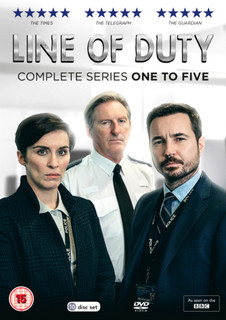 Line of Duty: Complete Series One to Five (2019) (Box Set) [DVD]