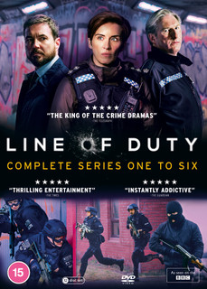 Line of Duty: Complete Series One to Six (2021) (Box Set) [DVD] [DVD / Box Set]