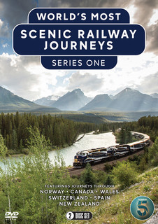The World's Most Scenic Railway Journeys: Series 1 (2020) (Normal) [DVD] [DVD / Normal]