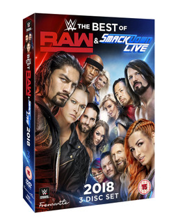 WWE: The Best of Raw & Smackdown 2018 (Box Set) [DVD]