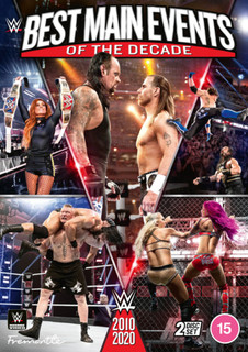 WWE: Best Main Events of the Decade 2010-2020 (2020) (Normal) [DVD]