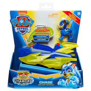PAW PATROL MIGHTY PUPS CHARGED UP THEMED VEHICLES - CHASE  [Toy]
