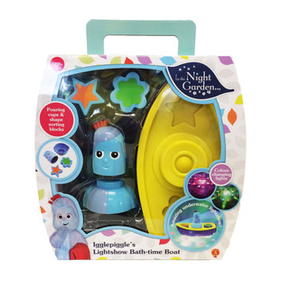 In the Night Garden Igglepiggle's Lightshow Bath-time Boat [Toy]