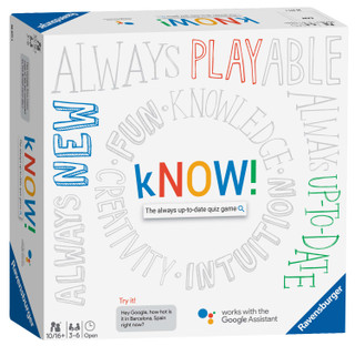 Ravensburger kNOW! – The always-up-to-date quiz game powered by the Google Assistant [Board Game]