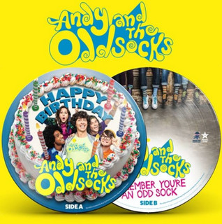 """Happy Birthday/Remember You're an Odd Sock (RSD 2020) (7"""" Single Picture Disc) [Vinyl] (2020)"""