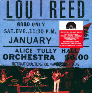 """Live at Alice Tully Hall: January 27, 1973 - 2nd Show (RSD Black Friday 2020) (1973) (Limited  12"""" Album Coloured Vinyl) [Vinyl] [Vinyl / 12"""" Album Coloured Vinyl]"""