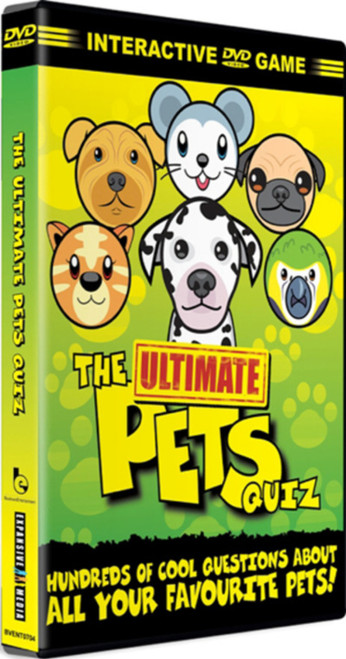 The Ultimate Pets Quiz (Interactive) [DVD]